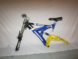 skibike conversion, ski bike build